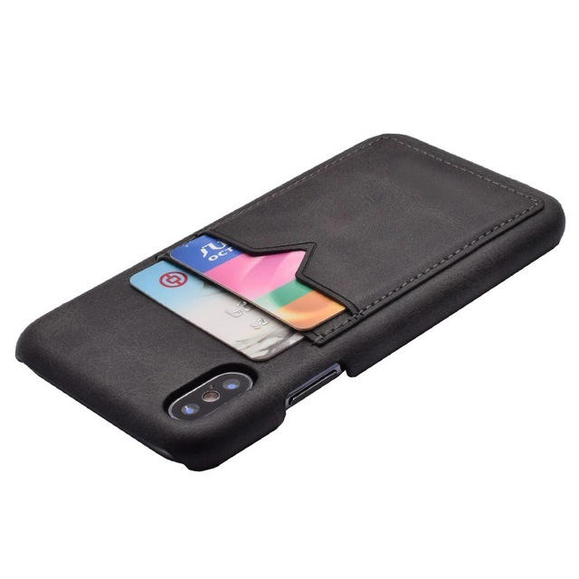 product-Puleather cell phone case with card holder-TenChen Tech-img-1
