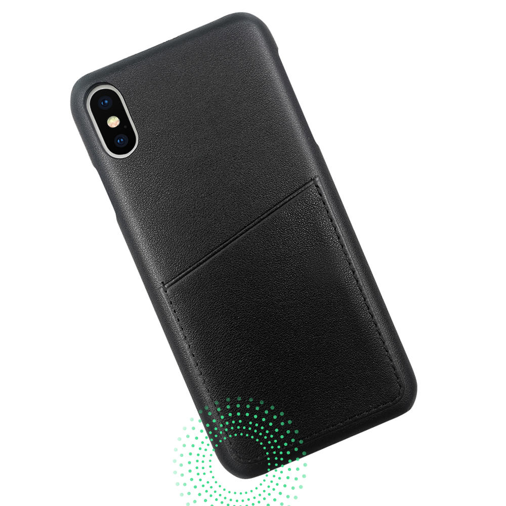 product-TenChen Tech-TENCHEN Genuine leather mobile phone case with card holder-img