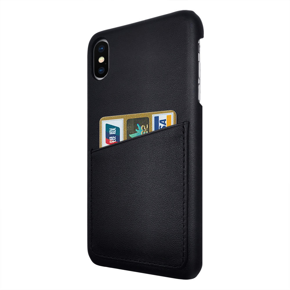 TENCHEN Genuine leather mobile phone case with card holder