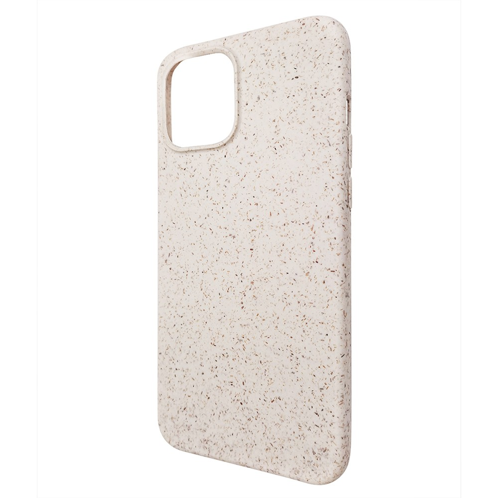 product-100 Biodegradable bamboo fiber phone case,Eco-friendly flax straw phone back cover for iPhon