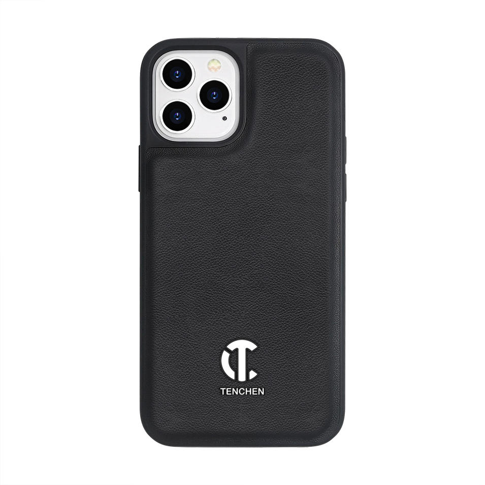 TENCHEN Genuine Leather mobile phone case