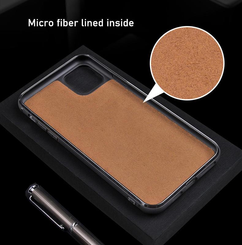 TENCHEN Genuine Leather mobile phone case