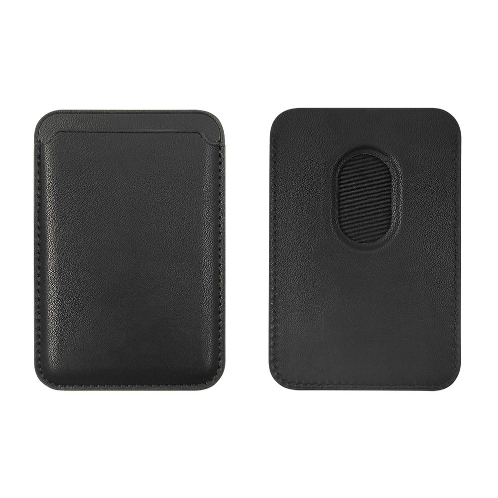 TENCHEN Mobile phone accessory magsafe magnetic Pu&leather card holder sticker