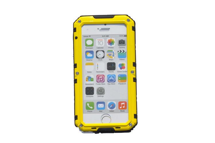 TENCHEN Shockproof waterproof IP68 aluminum alloy metal phone case
