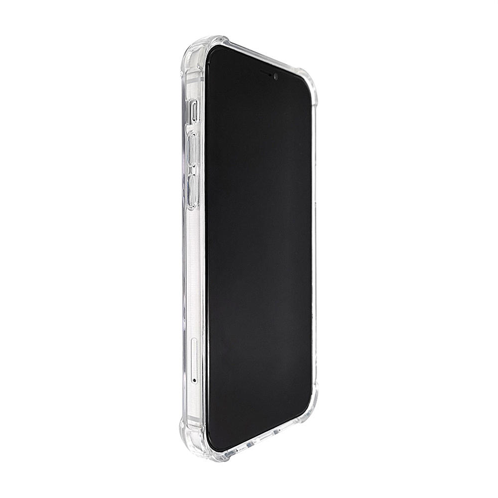 TENCHEN iPhone 12 clear antiscratch magsafe phone case