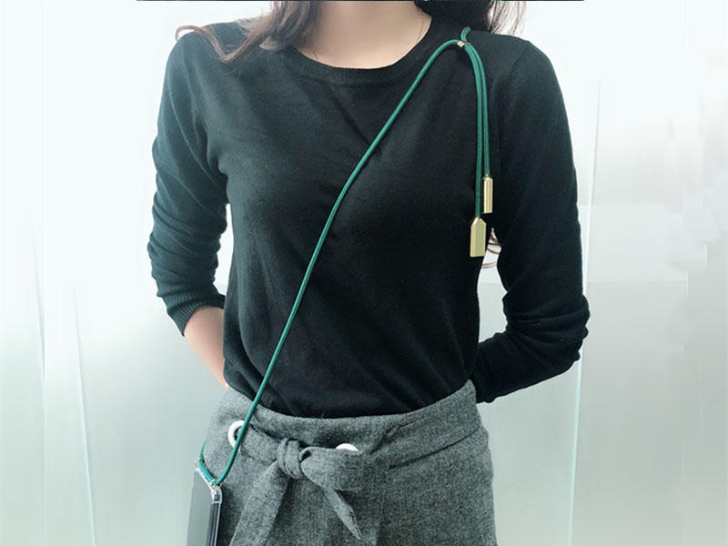 New trends-USB cable necklace phone case