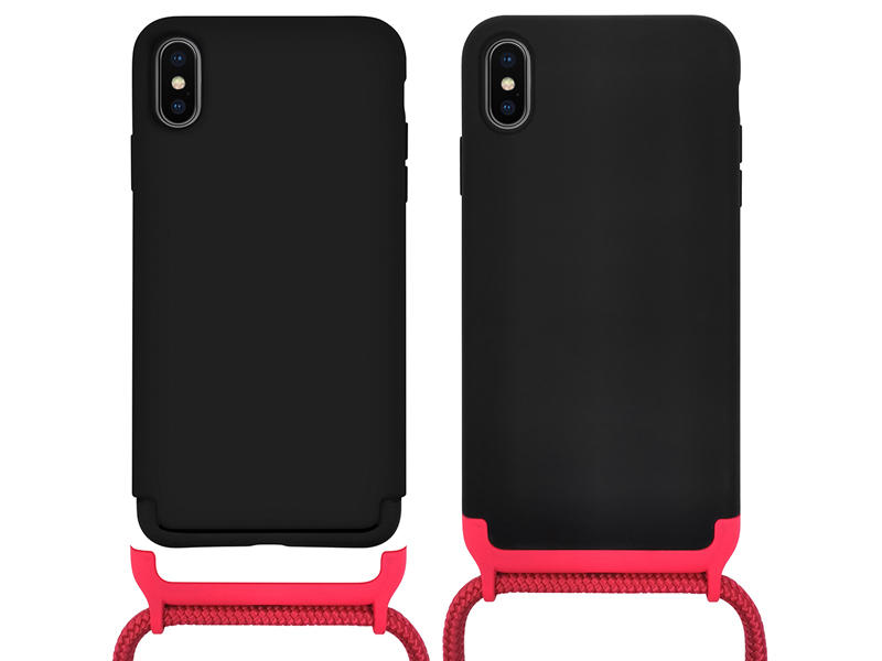 Detachable modular crossbody phone case