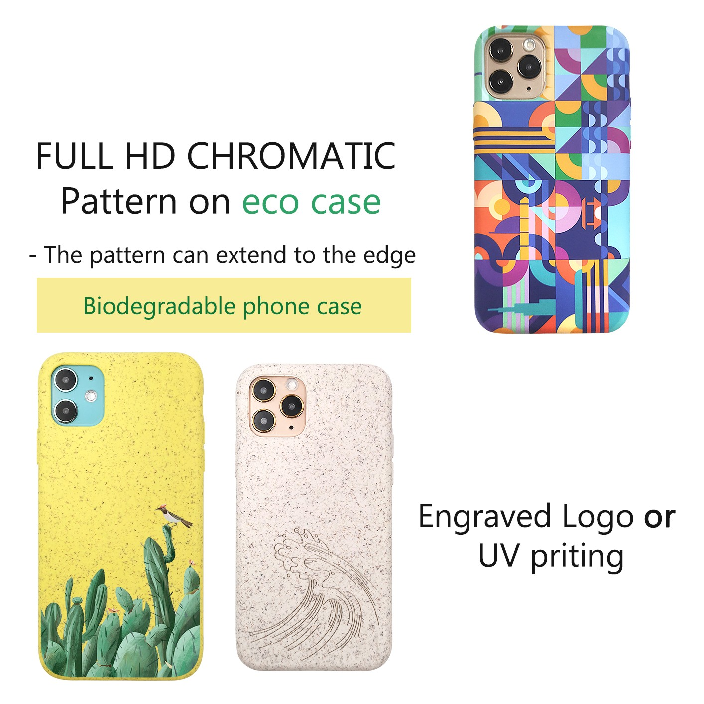 news-Demonstration - Simple printings design on different cases-TenChen Tech-img