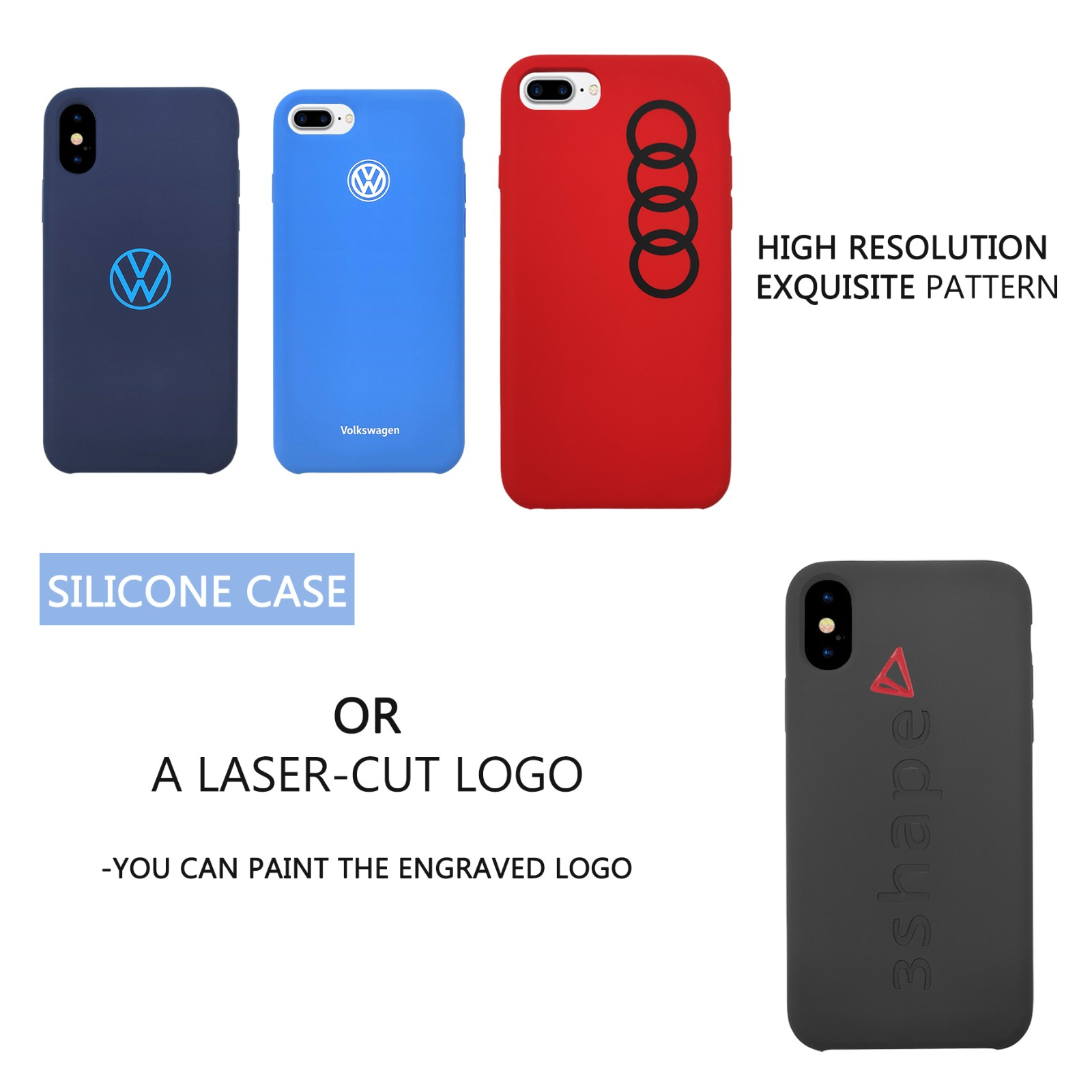 news-TenChen Tech-Demonstration - Simple printings design on different cases-img
