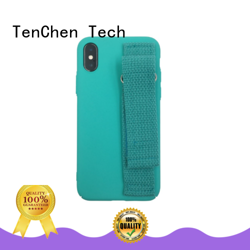 biodegradable mobile phone cases wholesale coated for retail TenChen Tech