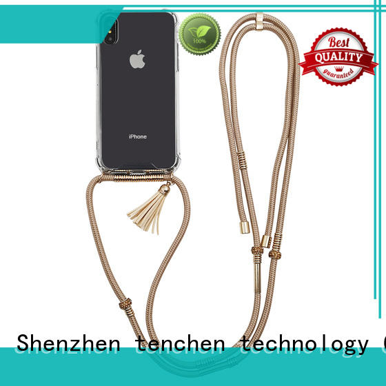 clear tpu rubber phone case customized for store TenChen Tech