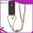Tassel necklace protective mobile phone case for iPhone