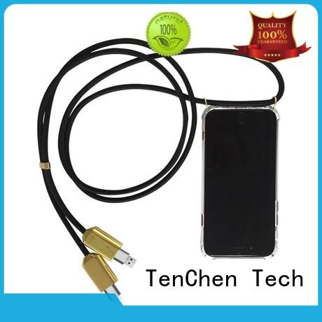 TenChen Tech rubber custom phone case maker directly sale for store