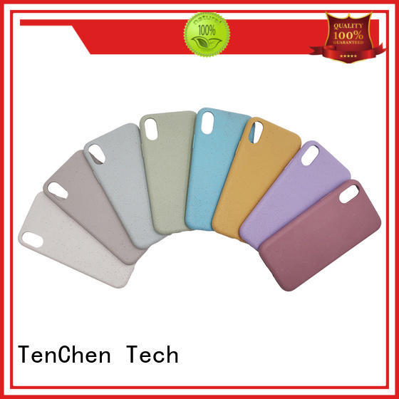 microfiber personalised phone case manufacturer from China for store TenChen Tech
