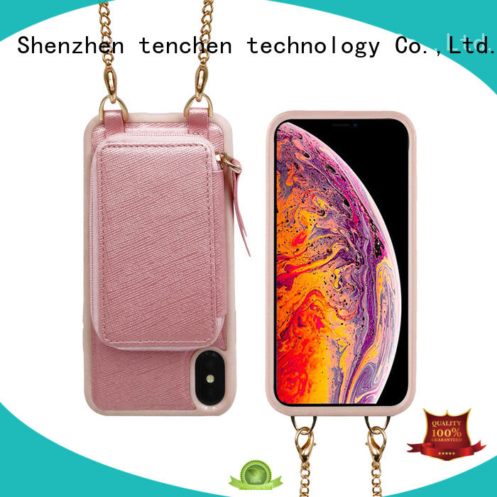 TenChen Tech wood phone case manufacturer from China for retail