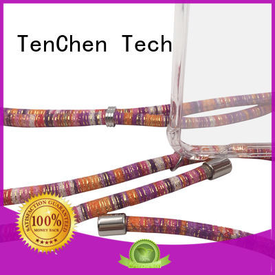 coated custom phone case from China for retail TenChen Tech