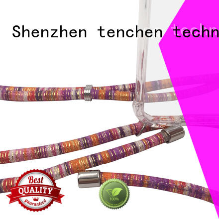 edge China phone case manufacturer straw for retail TenChen Tech