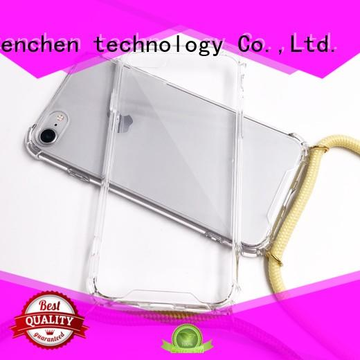 TenChen Tech straplanyard custom iphone case maker customized for store