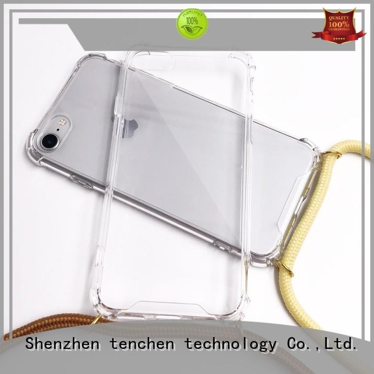 iphone tpu back cover chainstrap for home TenChen Tech