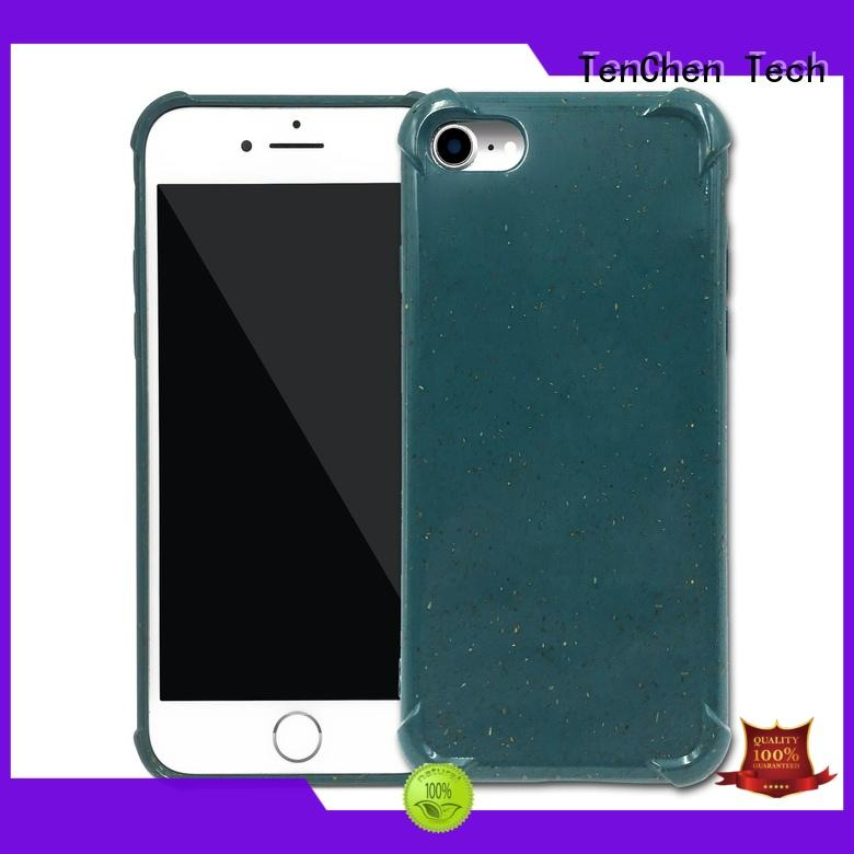 carbon color mobile phones covers and cases leather scratch TenChen Tech Brand