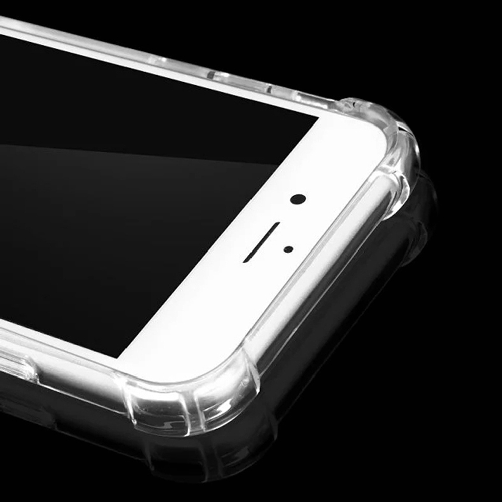 TenChen Tech-Transparent TPU PC Case For Iphone With Strap-1