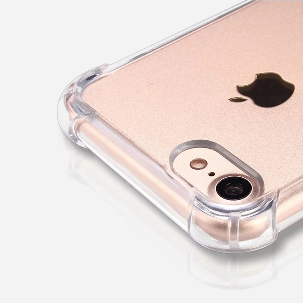 TenChen Tech-Transparent TPU PC Case For Iphone With Strap-2