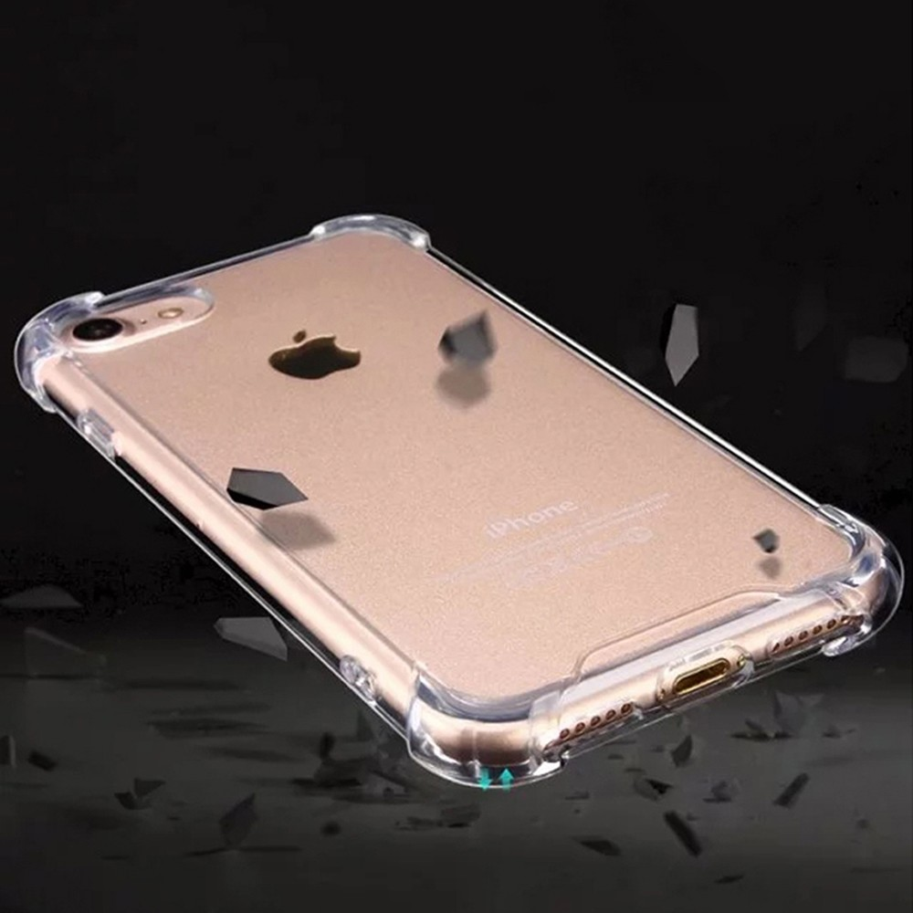 TenChen Tech-Transparent TPU PC Case For Iphone With Strap-3