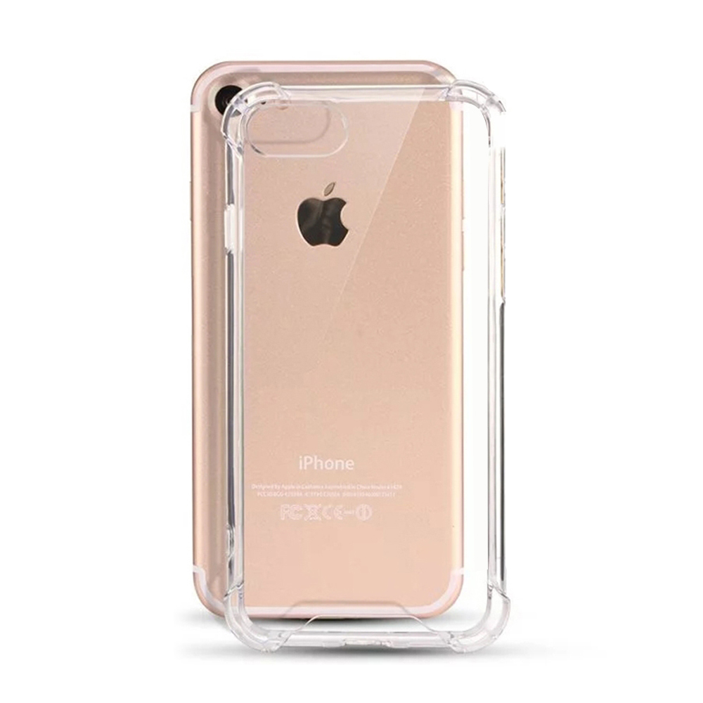 TenChen Tech-Transparent TPU PC Case For Iphone With Strap-4