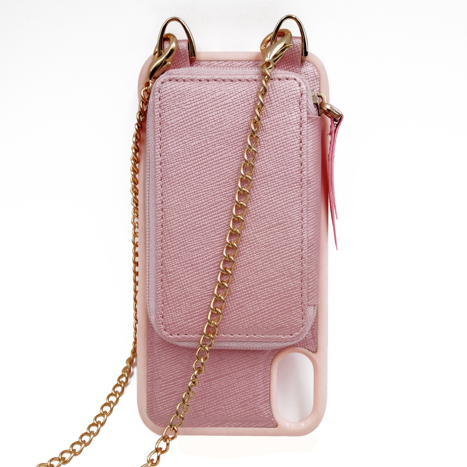 TenChen Tech-Best Iphone Case With Chain Leather Waller Crossbody Iphone Case-2