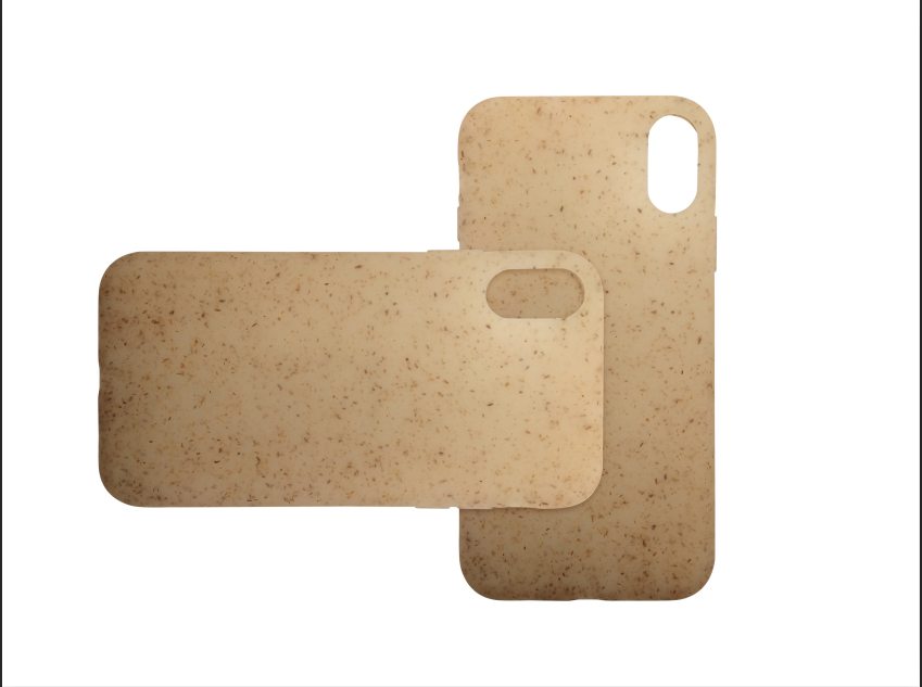 product-Semitransparent biodegradable PLA phone case,wheat straw soft case for iPhone-TenChen Tech-i-1
