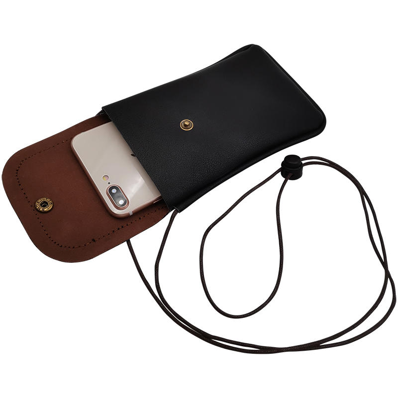 product-TenChen Tech-Puleather mobile phone bag with card slotholder-img