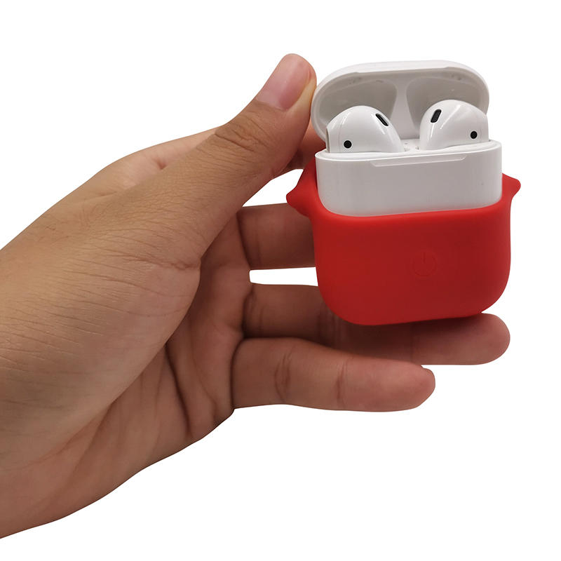 Soft silicone anti scratch skin case for apple airpods-iphone case- ipad case- macbook case-TenChen Tech