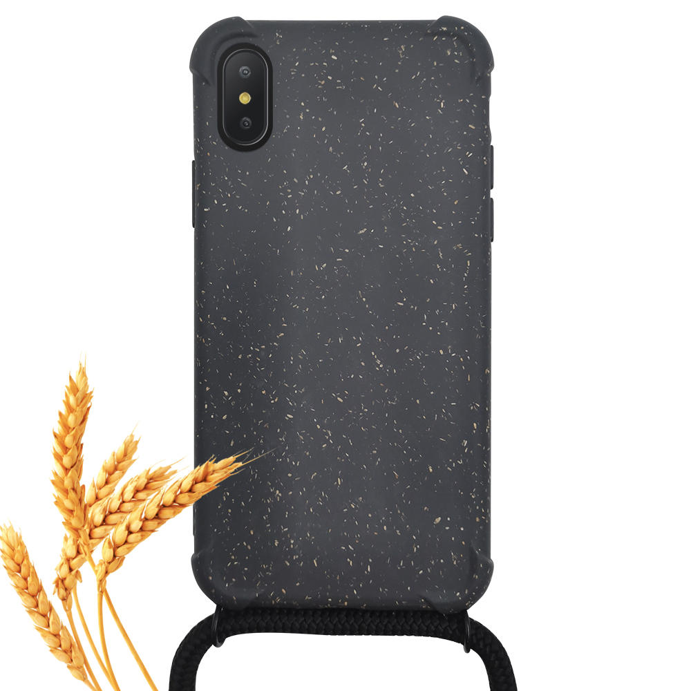 TenChen Tech-PLA wheat fiber biodegradable crossbody phone case
