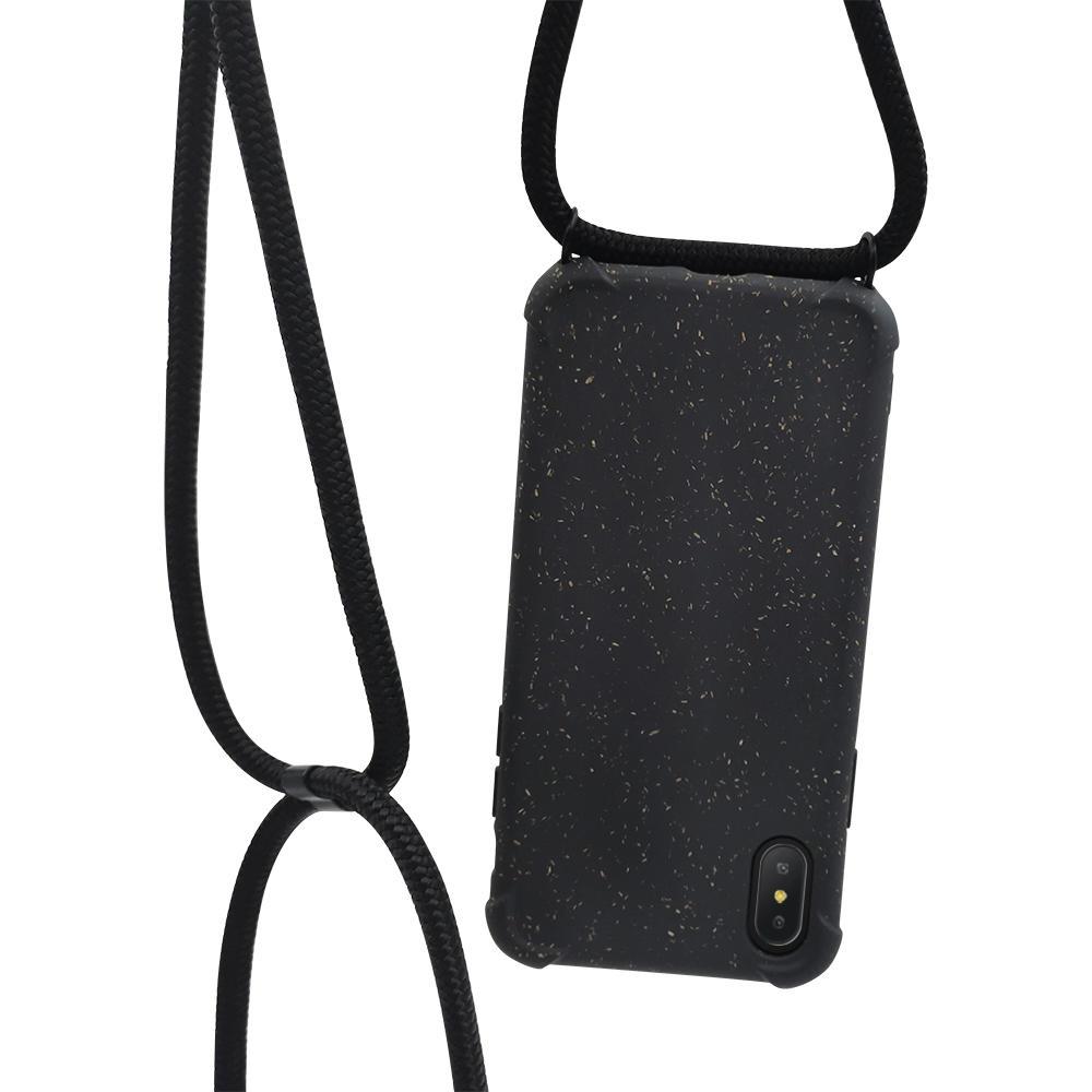 PLA wheat fiber biodegradable crossbody phone case-TenChen Tech