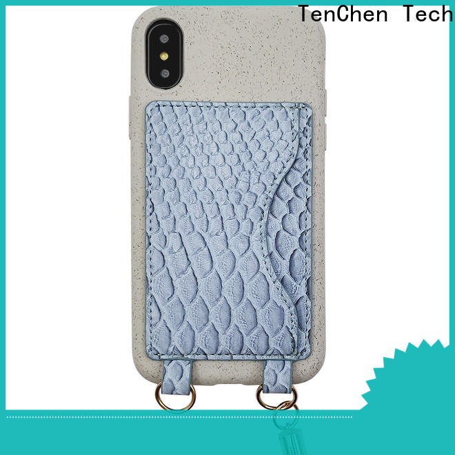 coated leather phone case customized for household