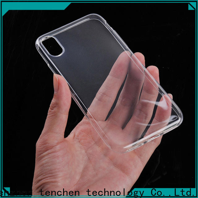 TenChen Tech clear custom phone case from China for sale