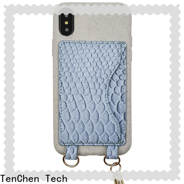 TenChen Tech ecofriendly iphone leather case manufacturer for business