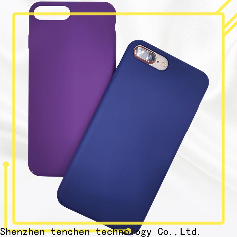 TenChen Tech silicon iphone case customized for commercial