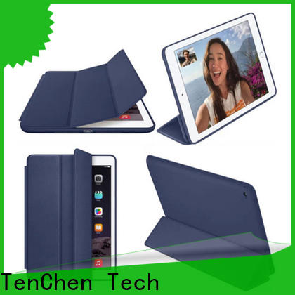 leather apple ipad air case factory price for home