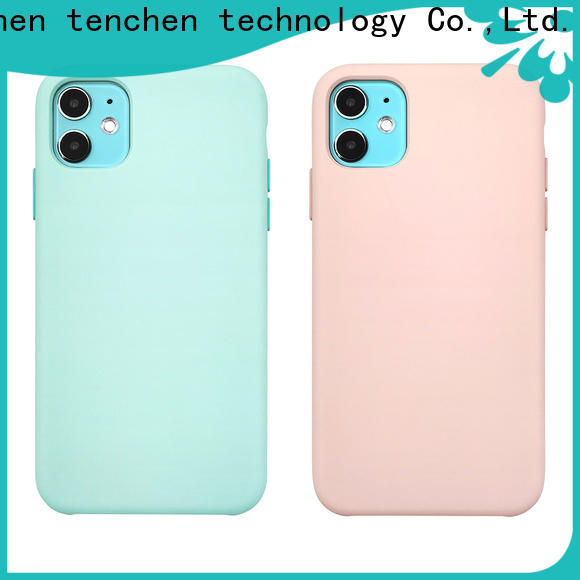 TenChen Tech clear eco friendly phone case from China for sale