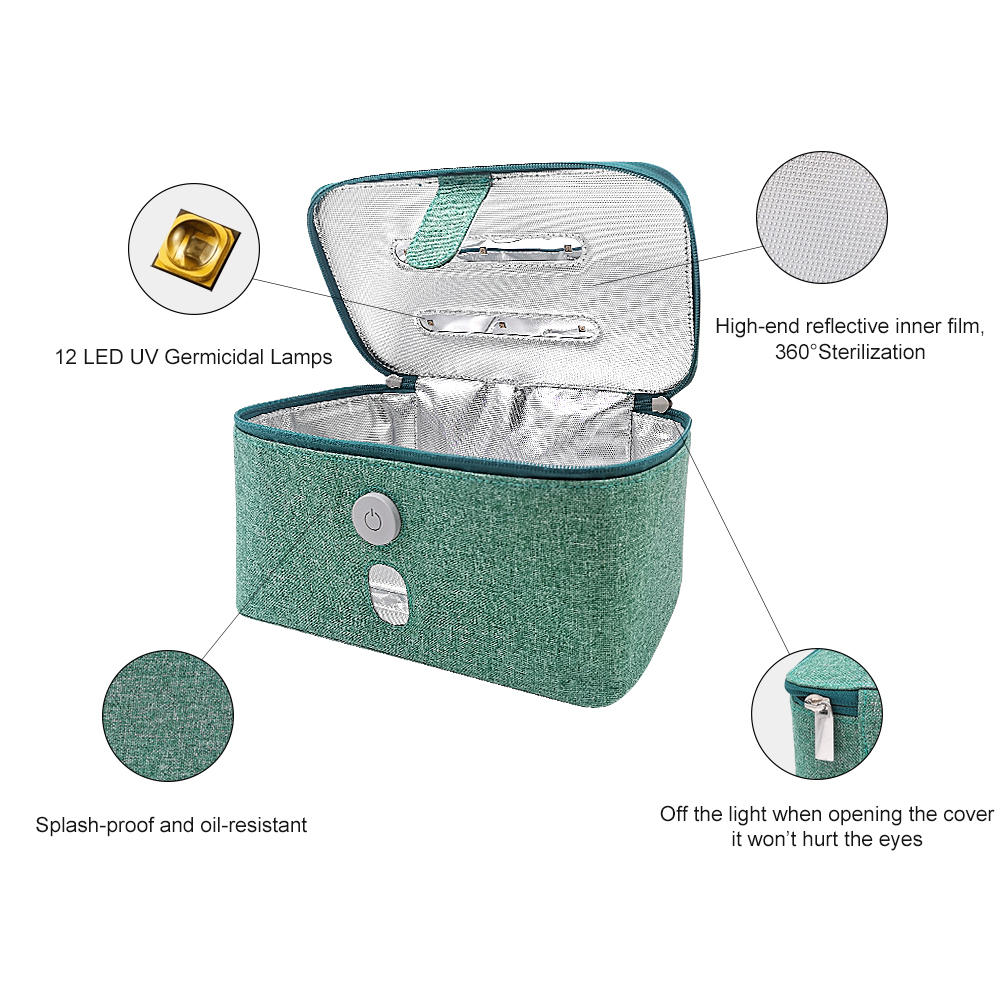 Domestic Multifunction non toxic UV fabric sterilizing storage bag