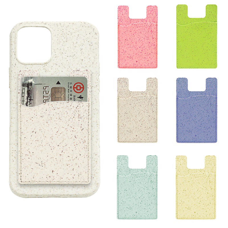 Eco friendly biodegradable mobile phone card holder
