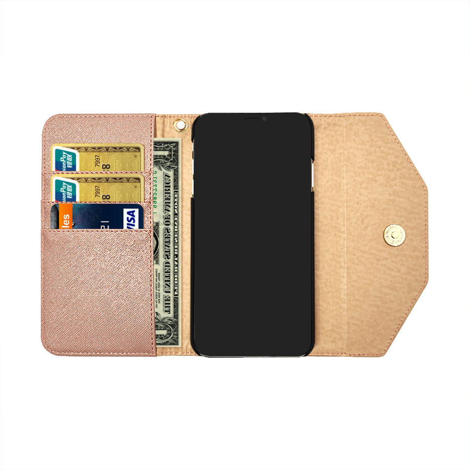 TENCHEN leather flip wallet card protective mobile phone case