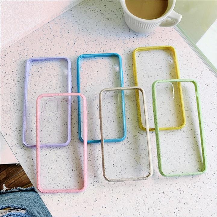 Clear eco-friendly phone case