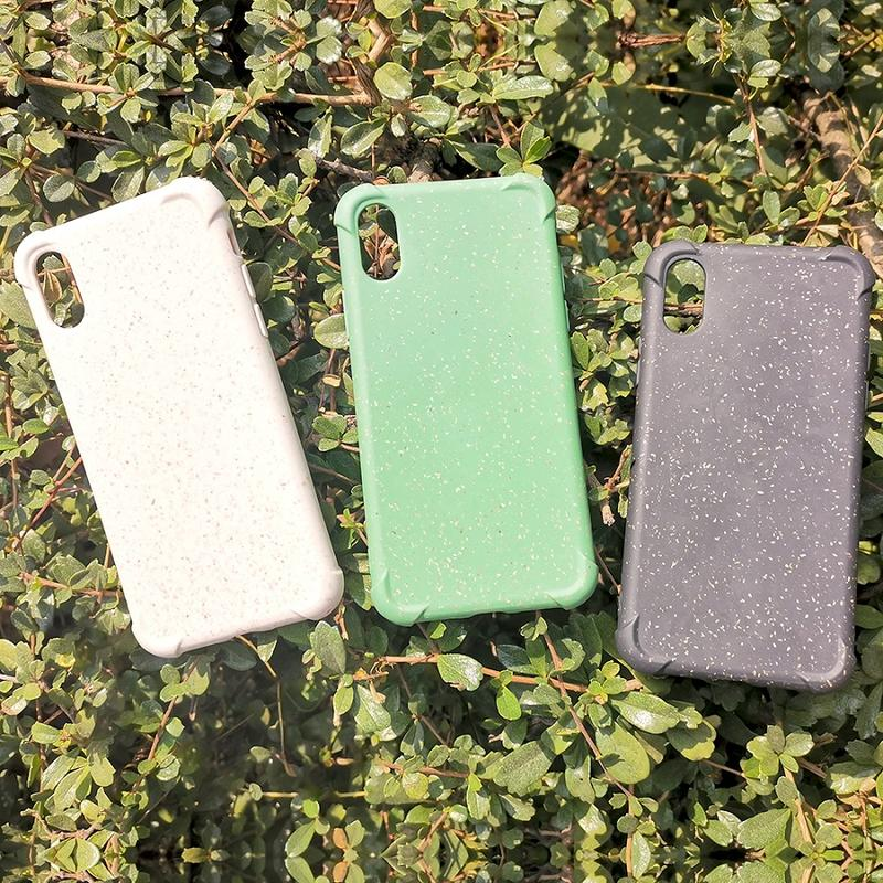 TENCHEN 100% biodegradable phone case with plant fiber plastic-free