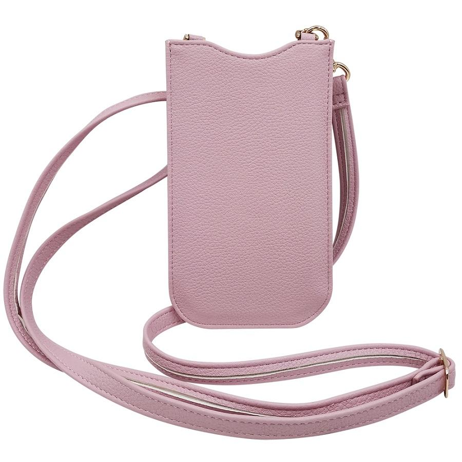 TENCHEN Pu leather mobile phone bag with card slot/holder