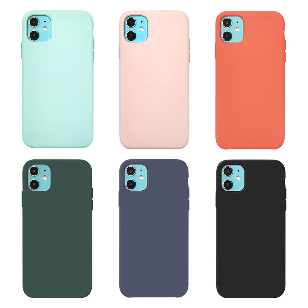 TENCHEN Liquid Silicone phone case protective phone cover