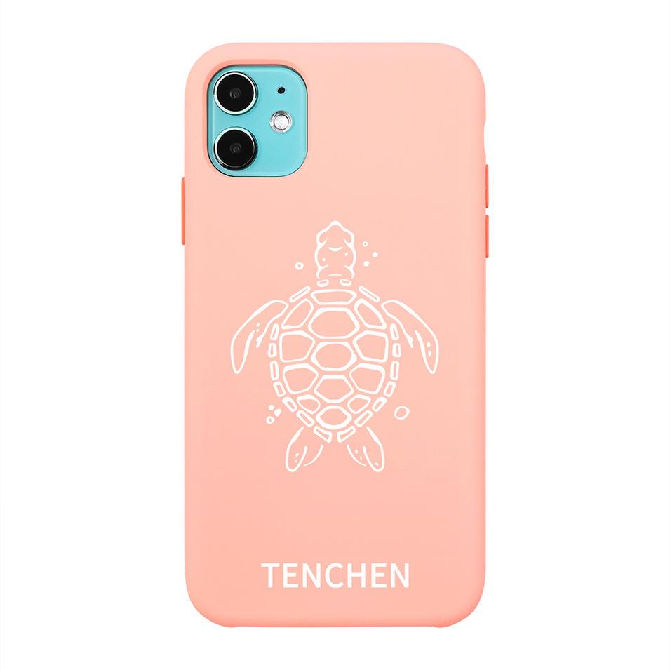 TENCHEN custom Liquid Silicone phone case protective phone cover