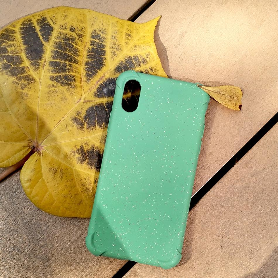 eco friendly phone case biodegradable phone case shockproof iphone x