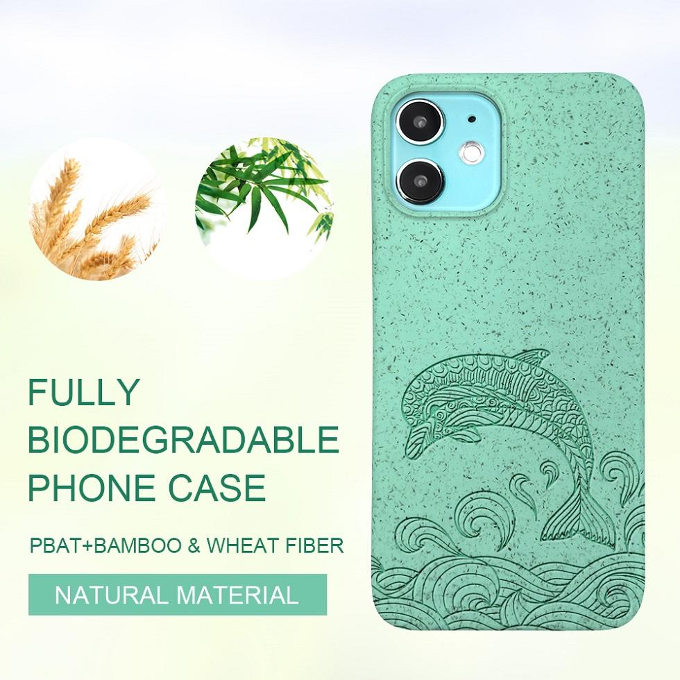PLA eco-friendly phone case